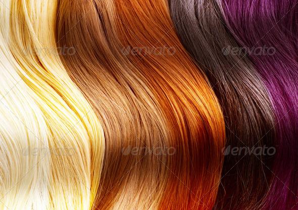 PhotoDune Hair Colors Palette 1917695