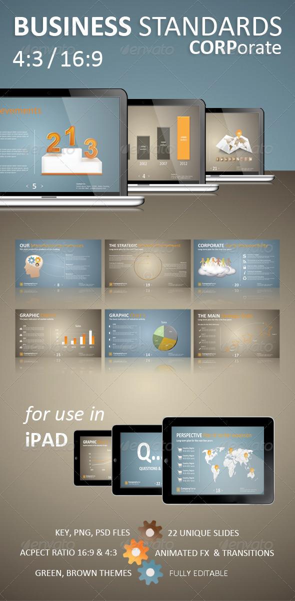 GraphicRiver Business Standards Keynote Corporate Presentation 1617898