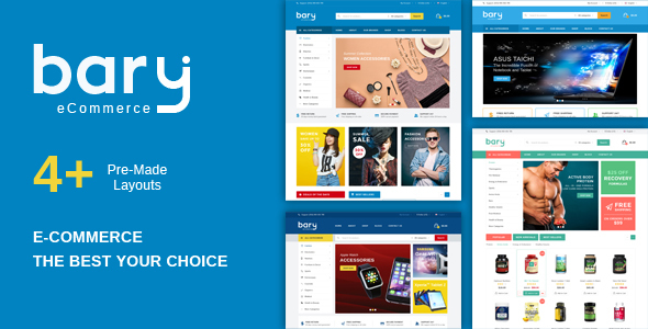 Bary – Multipurpose Responsive Fashion WooCommerce WordPress Theme