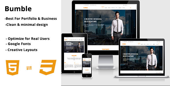 Bumble – Multipurpose Business HTML5 Template