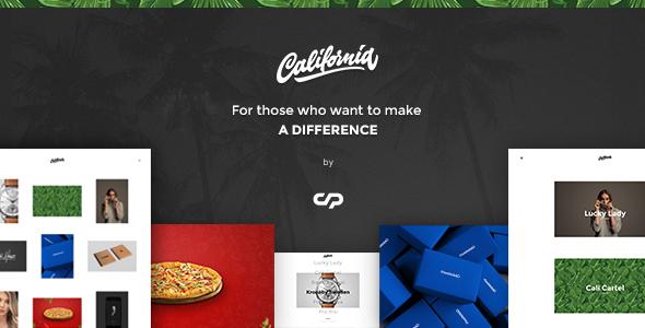 California – A theme for Creatives
