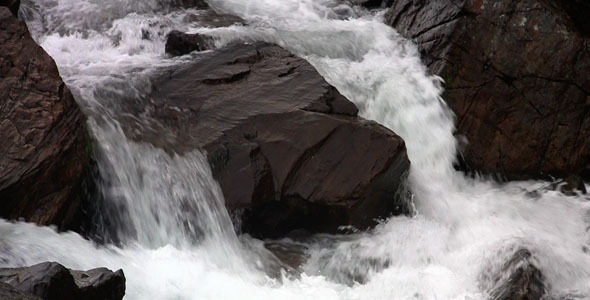 Videohive waterfalls in the mountains 1864500