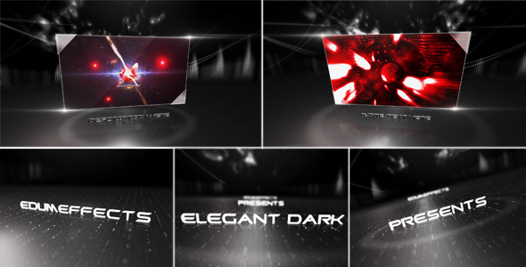 After Effects Project - VideoHive Elegant Dark 1923391