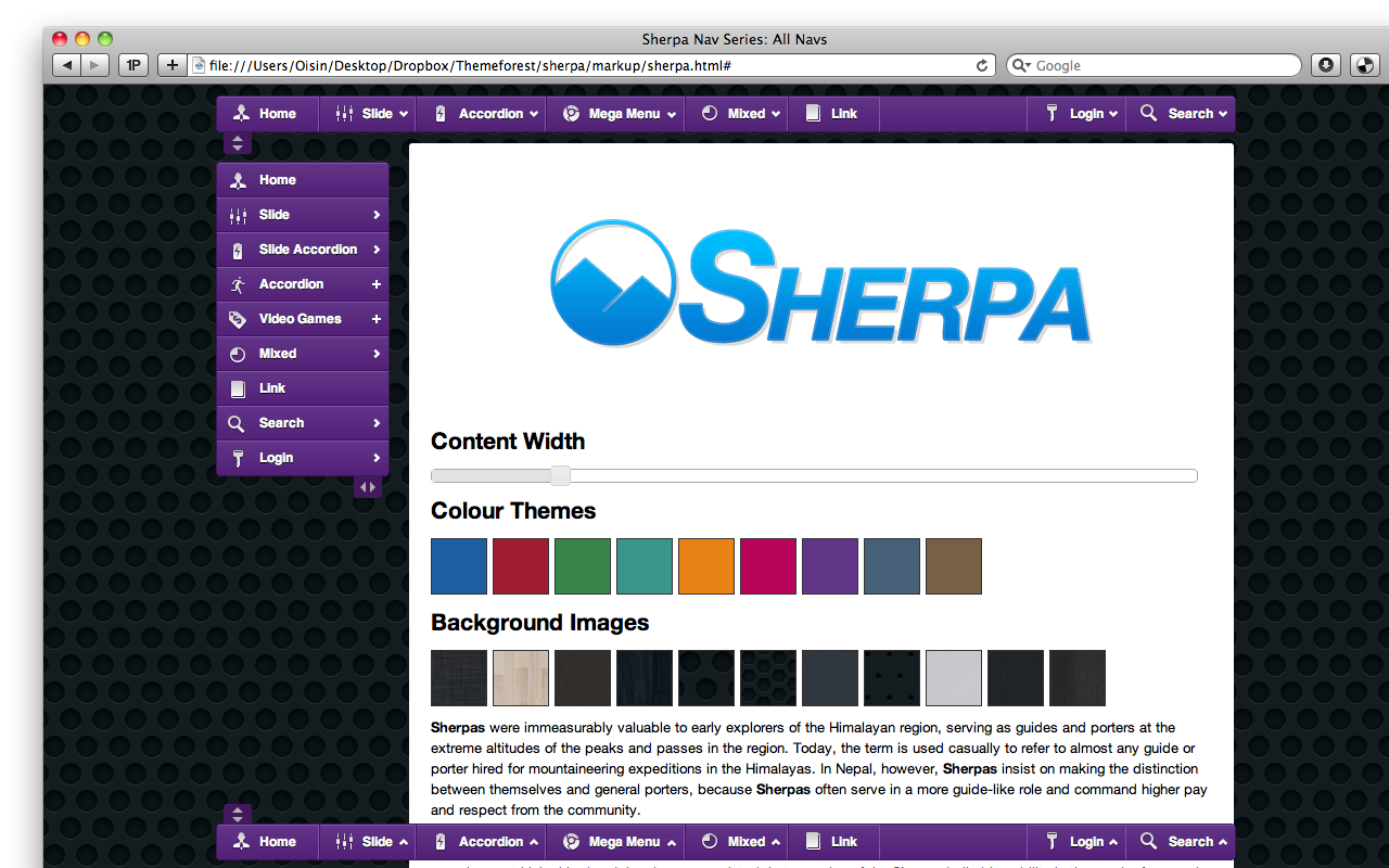 Sherpa | Complete Navigation System