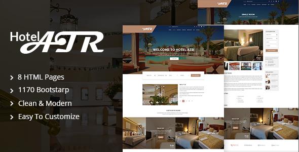 Hotel Atr – Hotel & Resort HTML Template