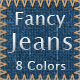 Fancy Jeans Tileable Patterns - GraphicRiver Item for Sale
