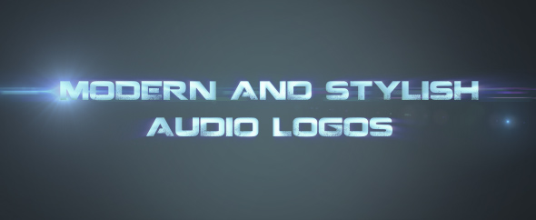 Modern And Stylish Audio Logos