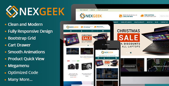 Nexgeek – Multipurpose  eCommerce HTML5 Template