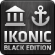 Ikonic Black - Vector Icons - GraphicRiver Item for Sale