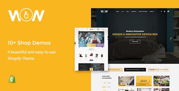 Wow – Multi-store Responsive Shopify Theme