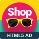 Shopping – HTML5 Animated Banner 16