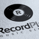 Record Plate Logo - GraphicRiver Item for Sale