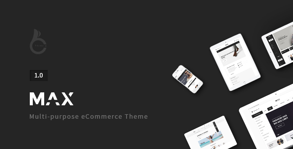 Max – Responsive WooCommerce Theme
