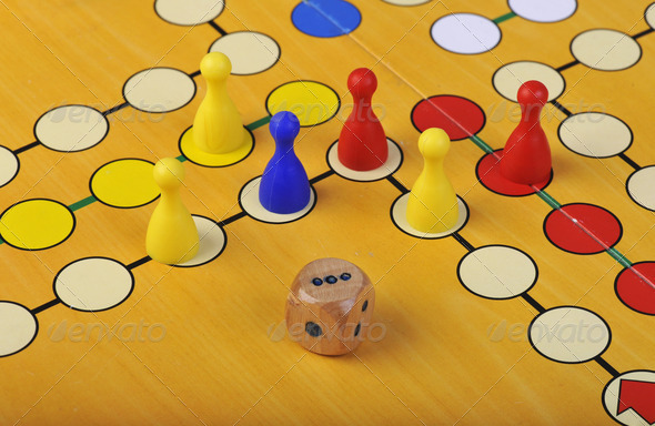 Game of Ludo - Stock Photo - Images