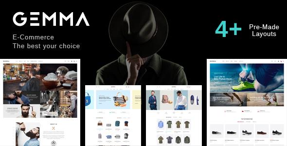 Gemma – Multipurpose WooCommerce WordPress Theme
