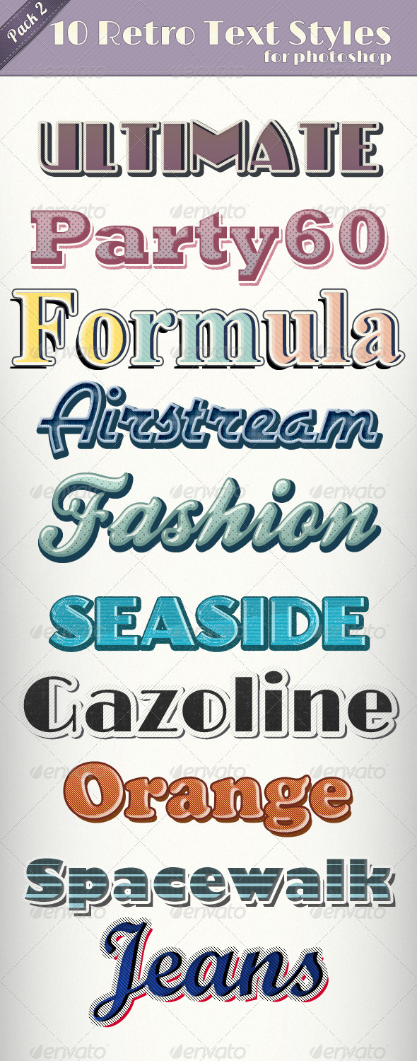 GraphicRiver Vintage Retro Text Styles 2 1928658