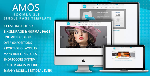 AMOS - Template for Joomla - AMOS JOOMLA TEMPLATE