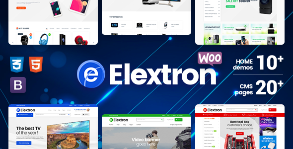 Elextron – Electronics & Digital Store for Responsive WordPress WooCommerce Theme