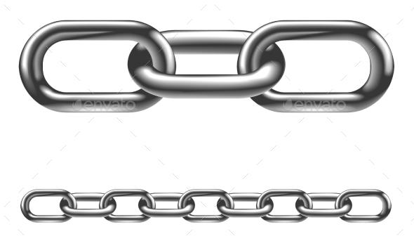 Как сделать цепь в иллюстраторе