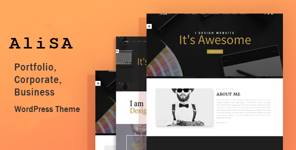 Alisa – Responsive WordPress Theme