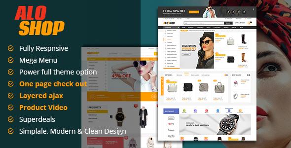 Alo Shop – Super Market Responsive Magento2 Theme