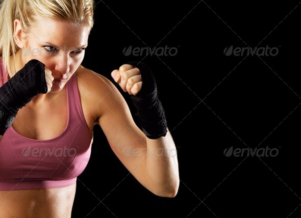 Ready to Fight - Stock Photo - Images