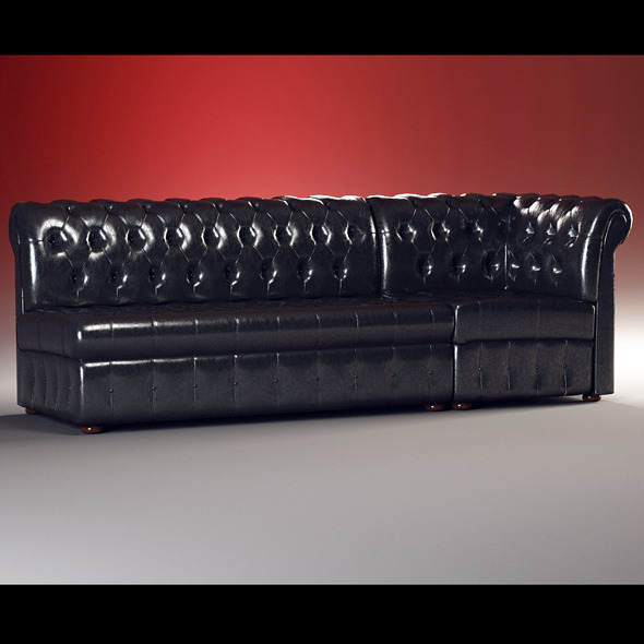 High quality model of classic sofa Origgi - 3DOcean Item for Sale