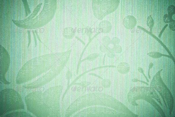 green abstract background or texture - Stock Photo - Images