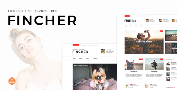 Fincher – Multi-Purpose Blog, Magazine & News Template