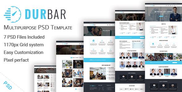 DURBAR – Multipurpose PSD Template