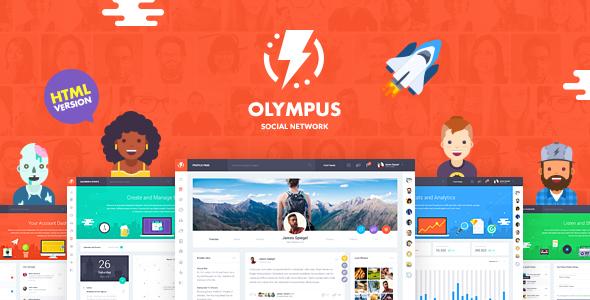 Olympus – HTML Social Network Toolkit