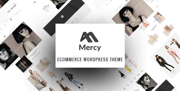 Mercy – Fashion Shop WordPress Theme