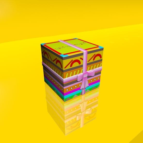 3DOcean Gift Box 01 1927874