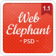 Elephant Web - Premium PSD Template - ThemeForest Item for Sale