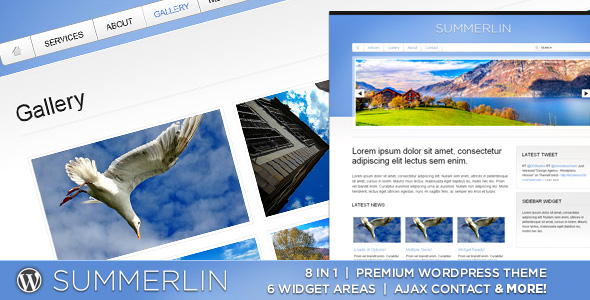 WP Summerlin - 8 in 1 - Premium Wordpress Theme