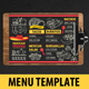 Mexican Food Menu-Graphicriver中文最全的素材分享平台