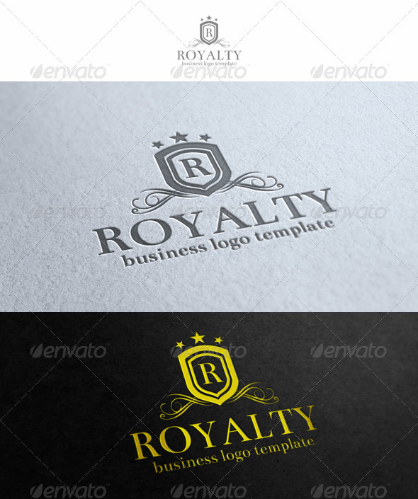 Royalty Logo Template - Crests Logo Templates