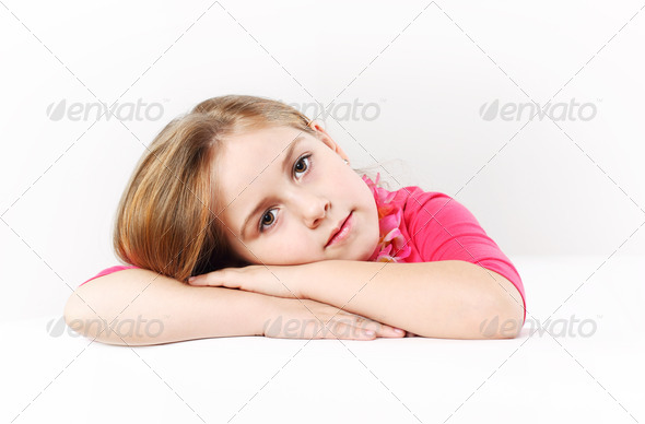 Portrait of a girl - Stock Photo - Images