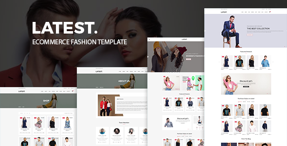 Latest – eCommerce Fashion Template