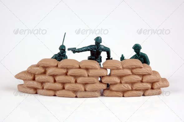 Soldiers. - Stock Photo - Images