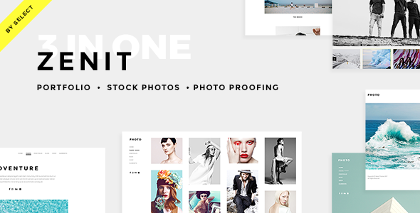 Zenit – A Crisp and Clean Photography Theme
