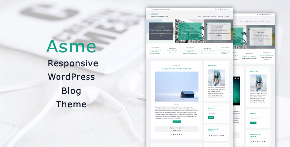 Asme – Responsive WordPress Blog Theme