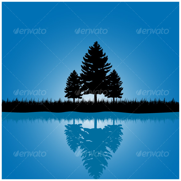 GraphicRiver Tree scene 74939