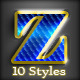 10 DeLuxe Photoshop Layer Styles - GraphicRiver Item for Sale