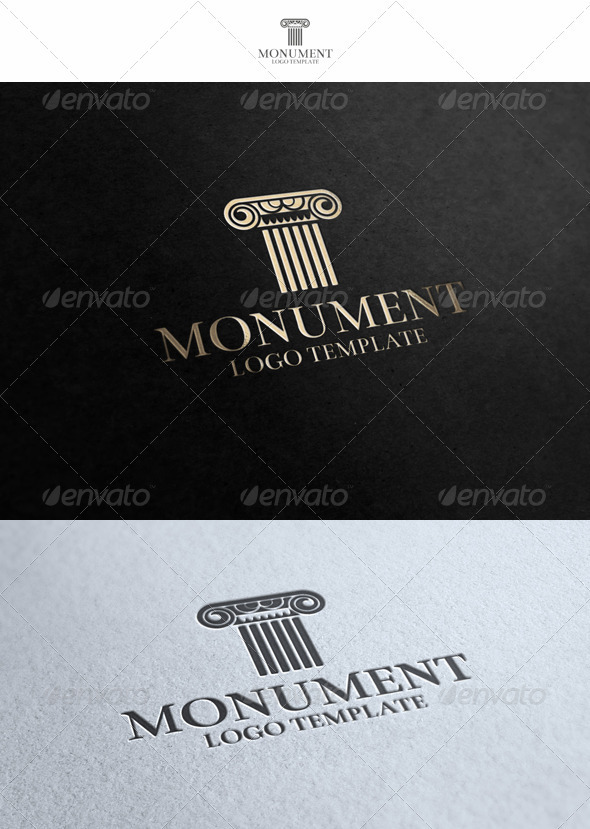 Monument Logo_v2 - Buildings Logo Templates