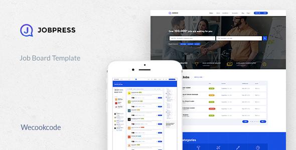 JobPress – Jobs Directory & Listing Template