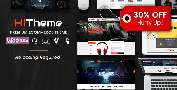 HiTheme – Responsive WooCommerce WordPress Theme
