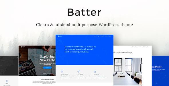 Batter | Multi-Purpose Premium Responsive WordPress Theme