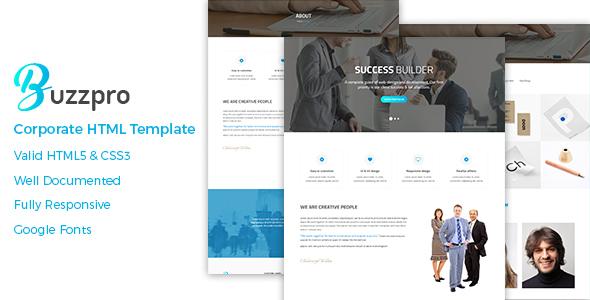 Buzzpro – Corporate HTML Template