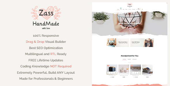 Zass – WordPress Woocommerce theme